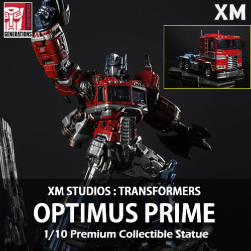 [예약상품][XM STUDIOS] 트렌스포머 : 옵티머스 프라임 1/10 Optimus Prime Premium Collectibles statue