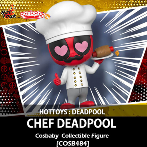 [입고][HOTTOYS] 데드풀 : 쉐프 데드풀 코스베이 Chef Deapool Cosbaby(S) Bobble-Head Collectible [COSB484]