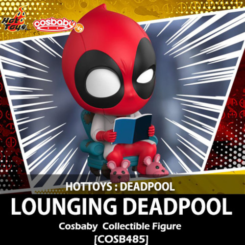 [입고][HOTTOYS] 데드풀 : 라우징 데드풀 코스베이비Lounging Deapool Cosbaby(S) Bobble-Head Collectible [COSB485]