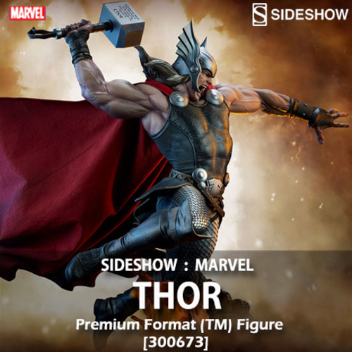 [6월25일 입고예정][예약완료][SIDESHOW] 마블 : 토르 Marvel : THOR Breaker of Brimstone Premium Format™ Figure [300673]