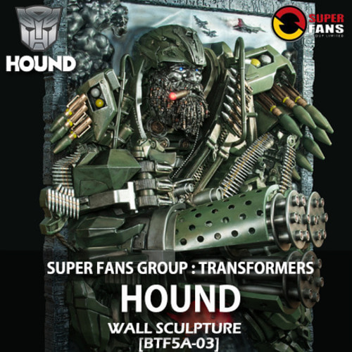 [예약상품][SUPER FANS GROUP LTD] 트랜스포머 최후의 기사 : 하운드 벽걸이 Transformers The Last Knight : HOUND wall sculpture [BTF5A-03]