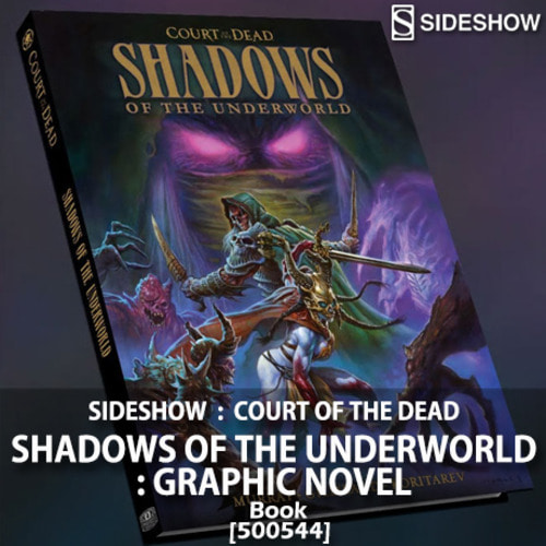 [입고예정][SIDESHOW] Court of the Dead : Shadows of the Underworld: Graphic Novel - BOOK [500544]