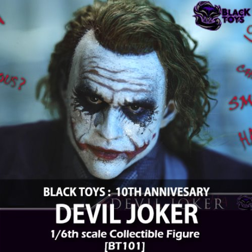 [예약상품][BLACK TOYS] Devil Joker 1/6 [BT101]