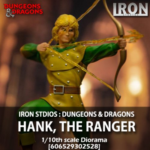 [예약상품][IRON STUDIOS] 던전앤드래곤 : 행크 1/10 Dungeons & Dragons : Hank, the Ranger