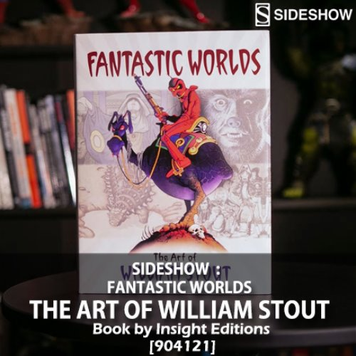[품절][SIDESHOW] Fantastic Worlds: The Art of William Stout Book by Insight Editions [904121]
