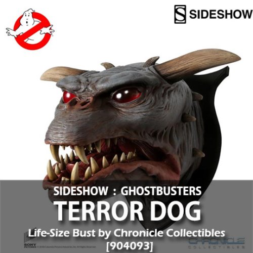 [품절][SIDESHOW][CHRONICLE COLLECTIBLES] 고스터버스터즈 : 테러독 라이프 사이즈 버스트 벽걸이 1/1 Ghostbusters : Terror Dog Life-Size Bust by Chronicle Collectibles Wall Mount [904093]