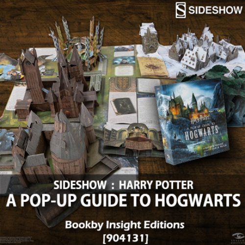 [품절][SIDESHOW] Harry Potter: A Pop-Up Guide to Hogwarts Book by Insight Editions [904131]