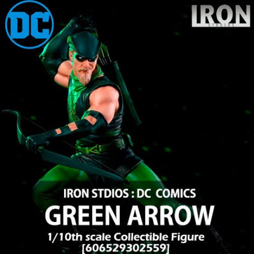 [품절][IRON STUDIOS] DC코믹스 : 그린애로우 1/10 DC Comics : Green Arrow