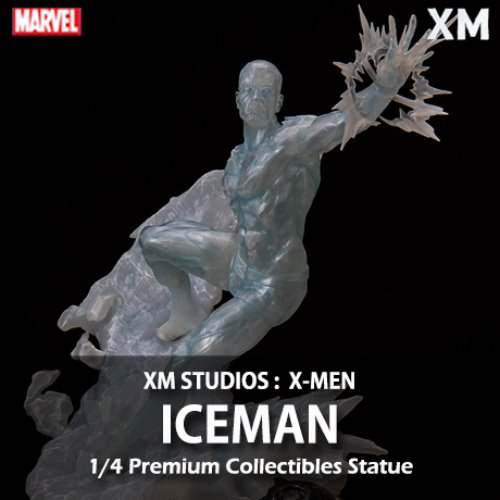 [품절][XM STUDIOS] 엑스맨 : 아이스맨 1/4 Marvel X-Men : Iceman Premium Collectibles statue