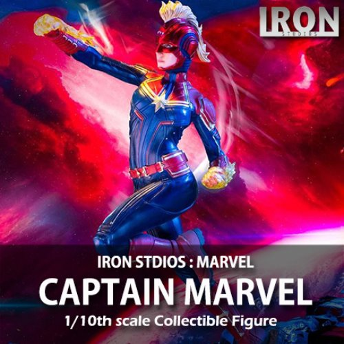 [예약상품][IRON STUDIOS] 캡틴 마블 스테츄 1/10 Marvel : Captain Marvel Statue