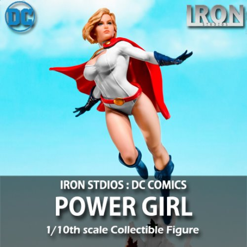 [예약상품][IRON STUDIOS] DC코믹스 : 파워걸 1/10 DC Comics : Power Girl by Ivan Reis