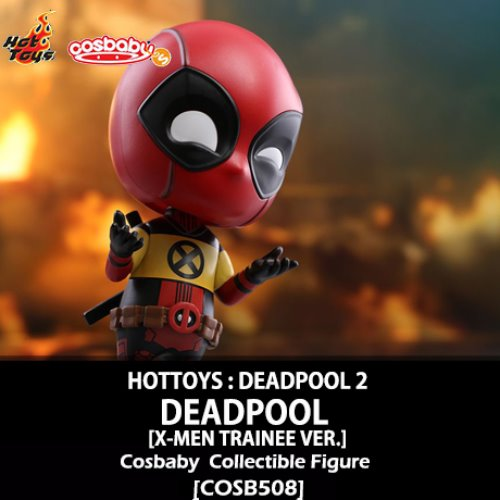 [입고][HOTTOYS] 데드풀 코스베이비 Deadpool [X-Men Trainee Version] Cosbaby (S) Collectible [COSB508]