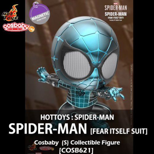 [입고][HOTTOYS] 마블 : 스파이더맨 코스베이비 Spider-Man (Fear Itself Suit) Cosbaby (S) Bobble-Head [COSB621]