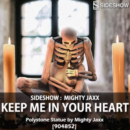 [예약상품][SIDESHOW][Mighty Jaxx] 나를 잊지 말아줘 스테츄 Keep Me In Your Heart : Polystone Statue [904852]