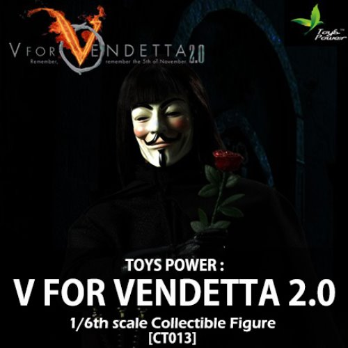 [입고][TOYS POWER] 브이 포 벤데타 2.0 1/6 V for Vendetta 2.0 Figure [CT013]